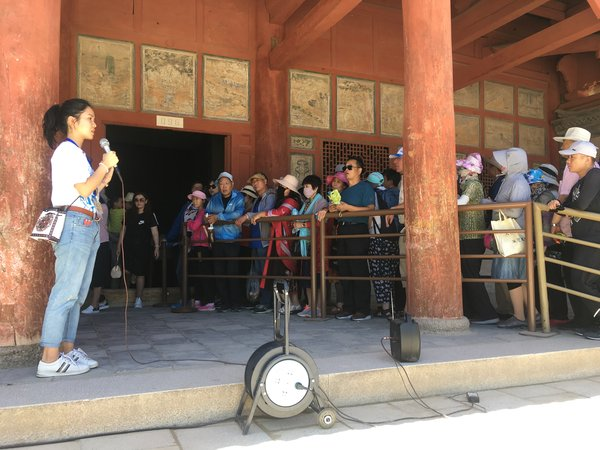 "Youth Square Launched ""Dunhuang Youth Internship Programme 2019"" 16 Hong Kong Youths Serve as Guides at Dunhuang Mogao Caves after Passing the Assessment Successfully"