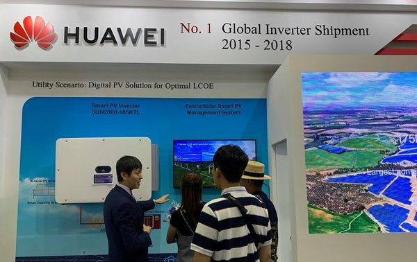 Huawei FusionSolar - Global No.1 in inverter shipments 2015-2018