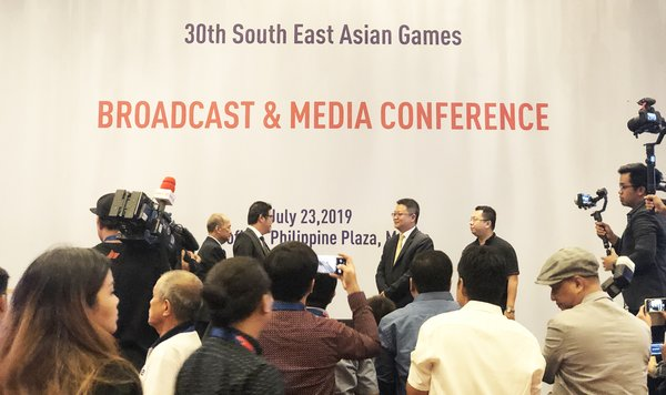 The 30th SEA Games Broadcast & Media Conference
