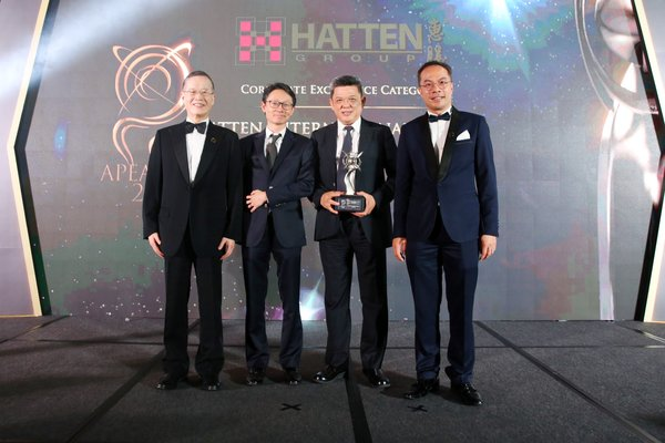 Hatten International Accorded the Asia Pacific Entrepreneurship Awards 2019