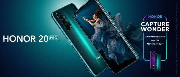 HONOR 20 PRO Kicks Off Global Sale