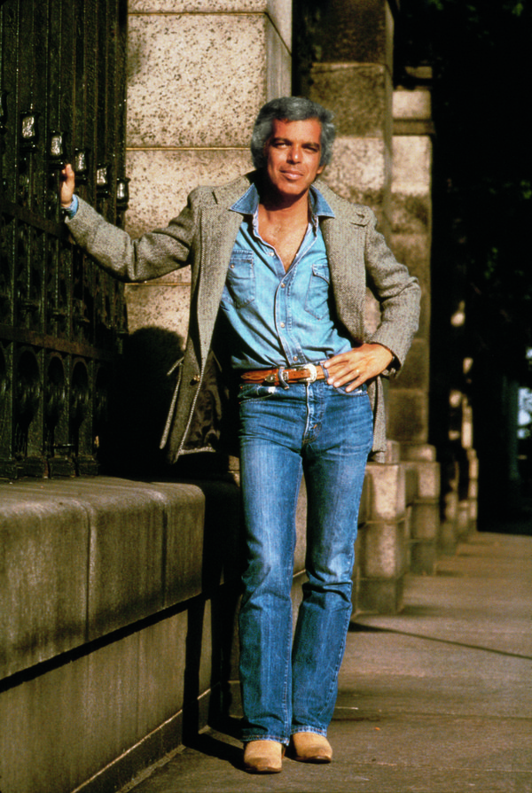 Featured in the photo: Ralph Lauren, 1978 Photo credit: Les Goldberg/ Courtesy of Ralph Lauren