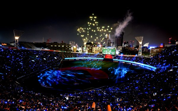 SKYMAGIC take to the skies of Japan, delivering three-nights of spectacular drone shows at the iconic Yokohama Stadium.