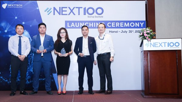 NextTech announced the completion of investments in three startups at the launching ceremony of Next100