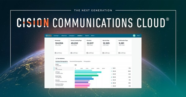 Cision(R) Unveils the Next Generation Cision Communications Cloud(R), Designed to Empower Communications Teams