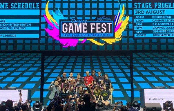 文化、社区及青年部长傅海燕出席Campus Game Fest及GIRLGAMER女子电竞嘉年华新加坡资格赛开幕式