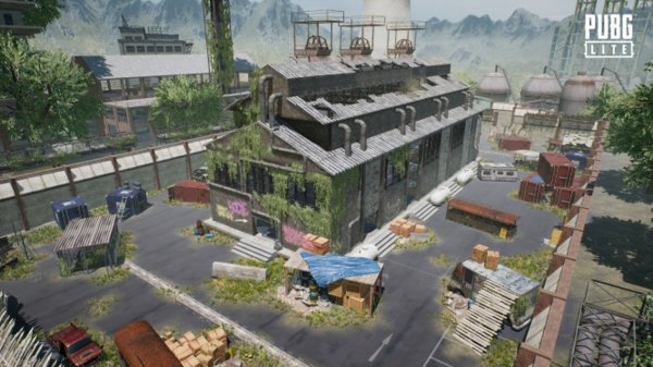 New 4VS4 Map available in PUBG LITE.