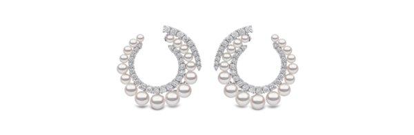 Yoko London的珍珠耳环