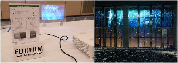 富士胶片透明投影膜将参展第二届进博会