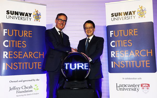 Sunway University and Lancaster University Set Up Future Cities Research Institute to Advance Work on Sustainable Cities
