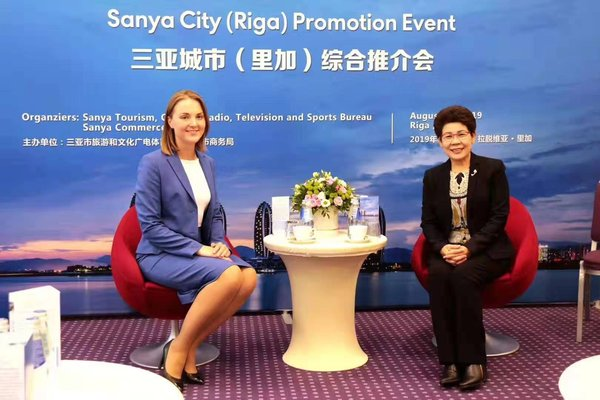 Sanya, China Promotes Itself as a Visa-Free Tourism Destination in Riga, Latvia