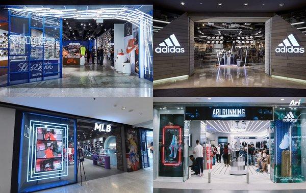 泰国曼谷中央世界商业中心不仅汇聚了众多奢侈和高街时尚,同时也是众多国际运动品牌旗舰店的优选之地