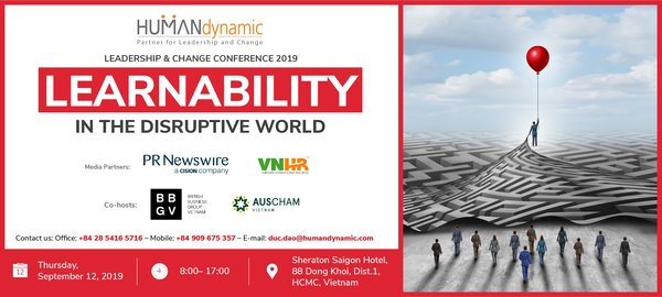 Leadership & Change Conference 2019 - Learnability in the disruptive world