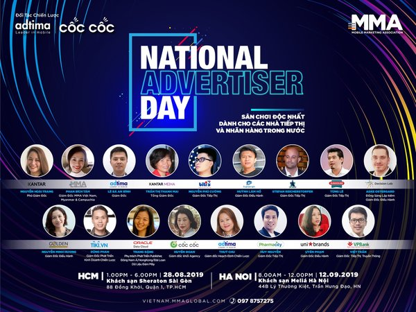 Vietnam Mobile Marketing Association (MMA) launched the National Advertiser Day 2019, A New Playground for Local Brands