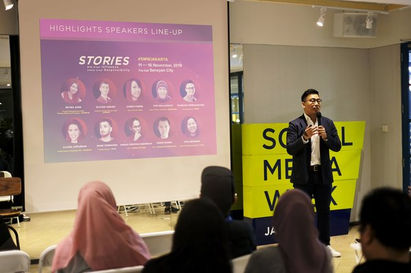 Social Media Week will return to Jakarta, with the big theme