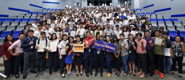 Sunway College A-Level Students Achieve Top Scores