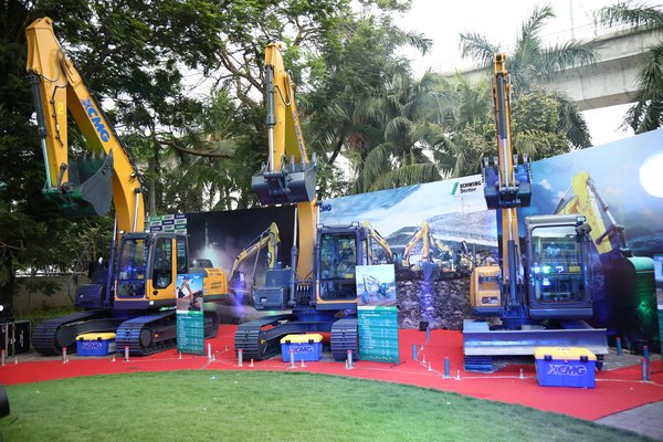 XCMG launches New Excavator Range in India