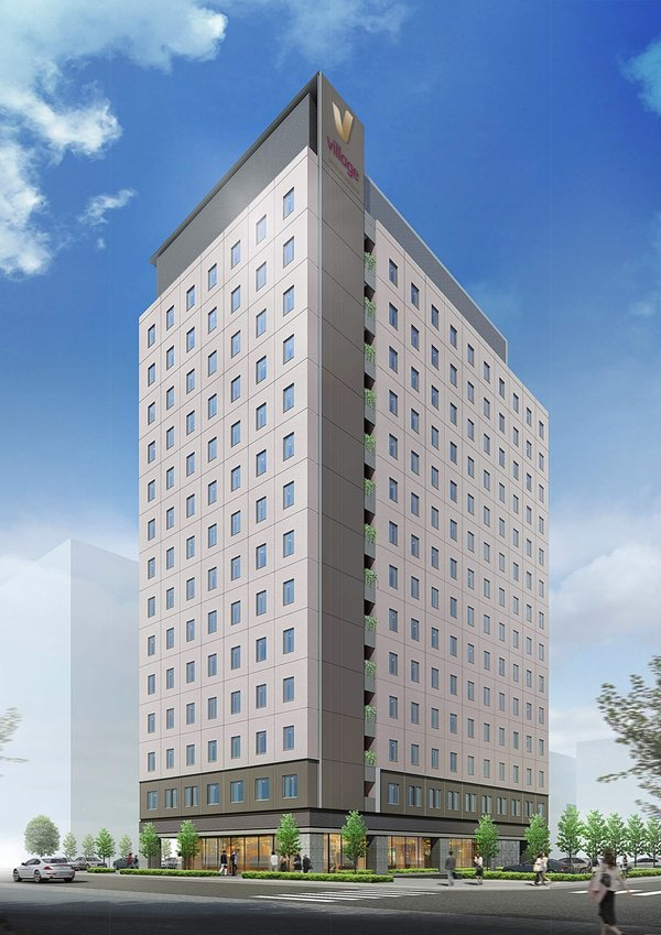 Artist's Impression of Village Hotel Ariake Tokyo - Far East Hospitality's first Village brand property outside Singapore