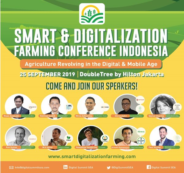 Smart & Digitalization Farming Conference Indonesia 2019 - Speakers