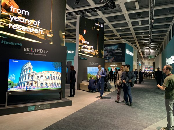 Hisense, Gorenje and ASKO present at IFA 2019