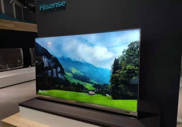 Hisense 8K ULED XD TV and Sonic Laser TV Shine at IFA 2019