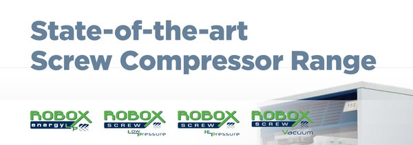 Robuschi State-of-the-Art Screw Compressor Range