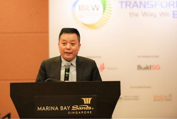 Chinese state-owned developer Gezhouba Real Estate attends IBEW 2019 in Singapore