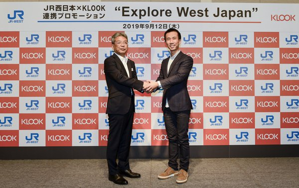 Klook Announces Strategic Partnership with JR-West to Better Serve Burgeoning Market of Southeast Asian Travelers to Japan