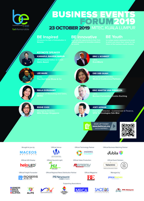 MACEOS Holds Business Events Forum (BEF) 2019 at Kuala Lumpur