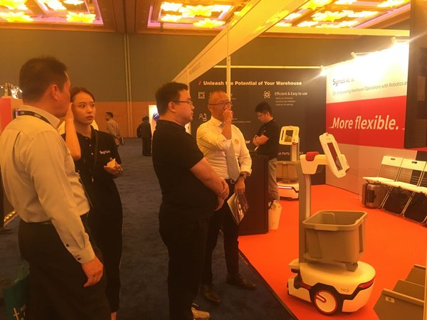 Syrius Robotics Debuts at Supply Chain Asia 2019 in Singapore with FlexComet(TM) SL-50 AMR (Autonomous Mobile Robot)