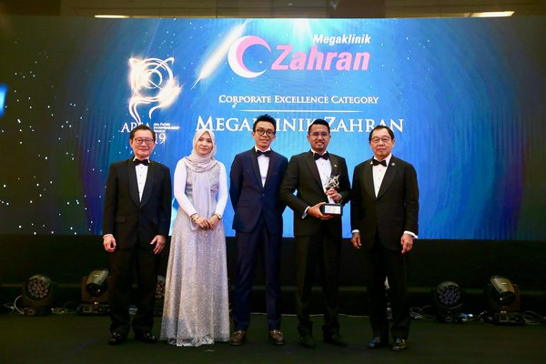Megaklinik Zahran Honored at the Asia Pacific Entrepreneurship Awards 2019