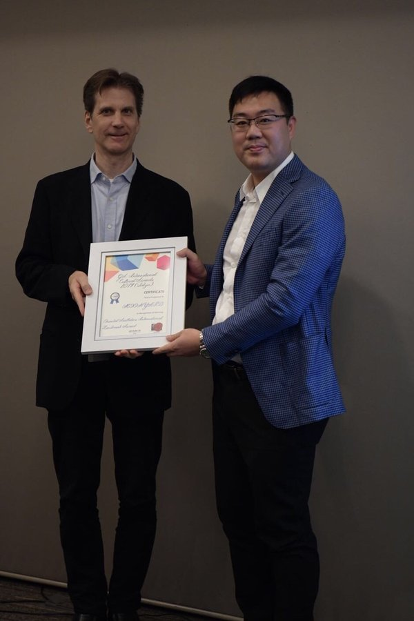 """MOON YARD"" received the Oriental Aesthetics International Landmark Award"