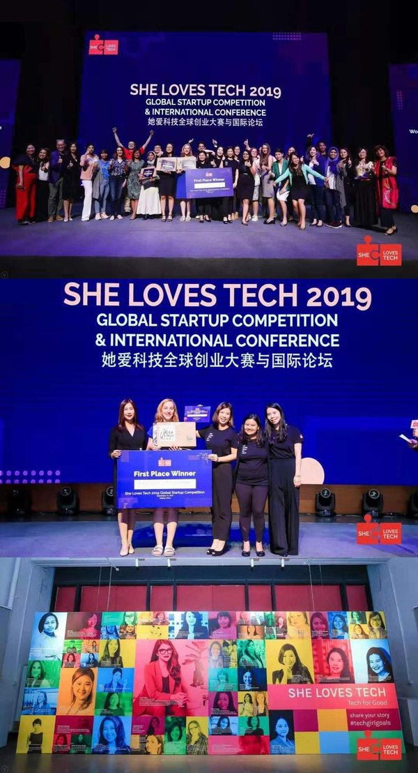 She Loves Tech, World's Largest Startup Competition For Women and Technology Helps Startups Raise Over USD100m in Its 5th Year