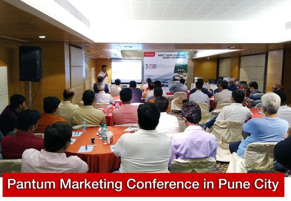 Pantum marketing conference in Pune City