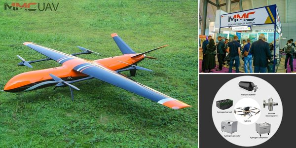 15-Hour Flight Time - MMC UAV Launches New Record-Breaking Hydrone