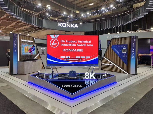 Fresh From IFA 2019, KONKA Touched Down at CE China With Its Latest Products