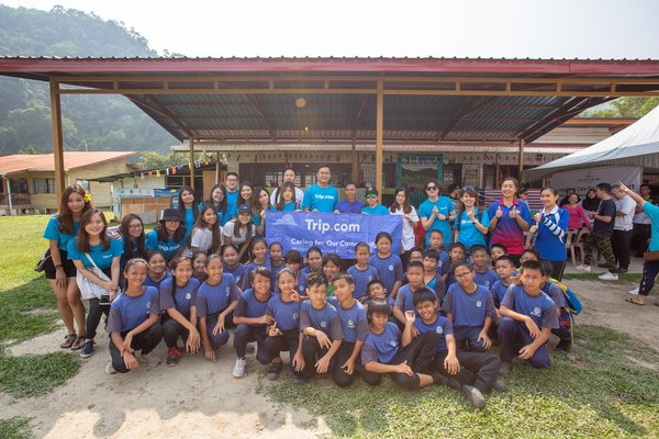 Trip.com Extending Corporate Social Responsibility projects in Singapore and Malaysia