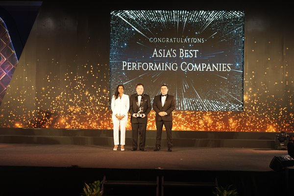 "Mr. Neogin A. Evangelista, President of Philusa Corporation, recognized at the ACES Awards 2019 as one of ""Asia's Best Performing Companies""."