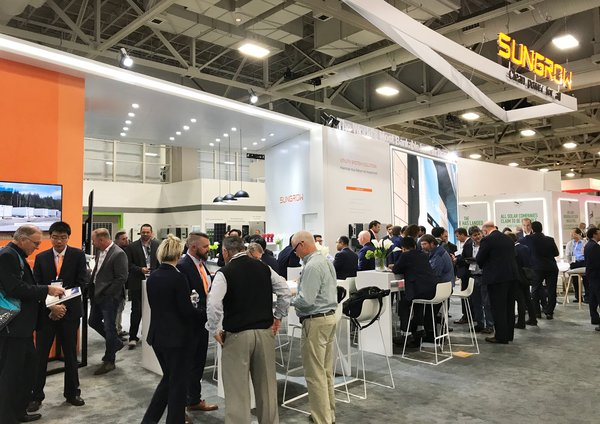Sungrow Booth at Solar Powerful International 2019