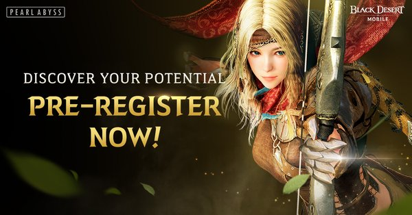 Pre-Registration for Black Desert Mobile Now Available