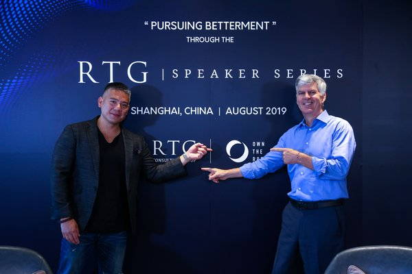 RTG Consulting Group Takes A Step Further To Pursue Betterment With RTG Speaker Series