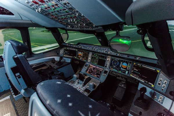CAE 7000XR Series full-motion flight training simulators qualified by Civil Aviation Department (CAD) and Civil Aviation Administration of China (CAAC) have been installed for A330 and A350 aircraft.