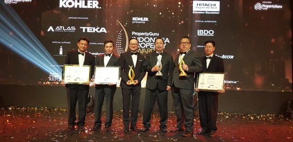 Pollux Properti Indonesia Wins 4 Awards at Indonesia Property Awards 2019
