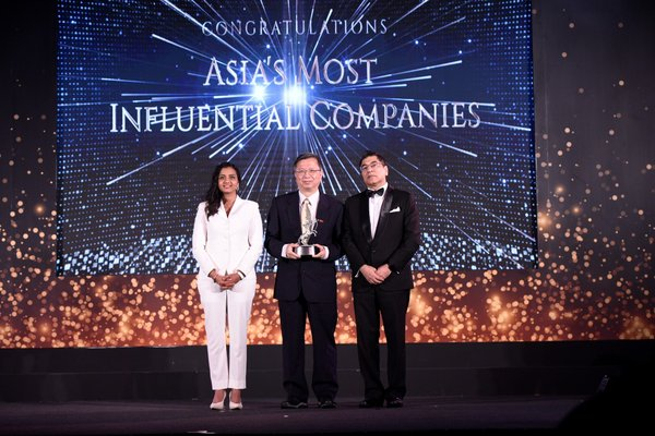 CPC Corporation, Taiwan being the first flag bearer for Taiwan in the prestigious ACES Awards