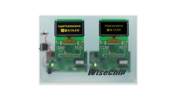 WiseChip Presents the 2.5 times brighter PMOLED by Latest Hyperfluorescence OLED Display at CEACTEC JAPAN 2019