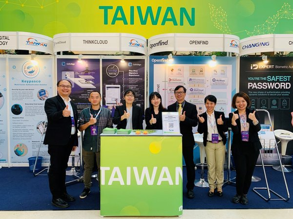 Taiwan participated in the Malaysian CSM-ACE with four exhibitors: Changing, LYDSEC, Openfind, and Think Cloud.