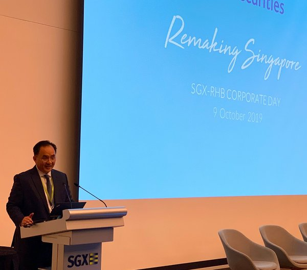 Chan Kong Ming, Chief Executive Officer of RHB Securities Singapore