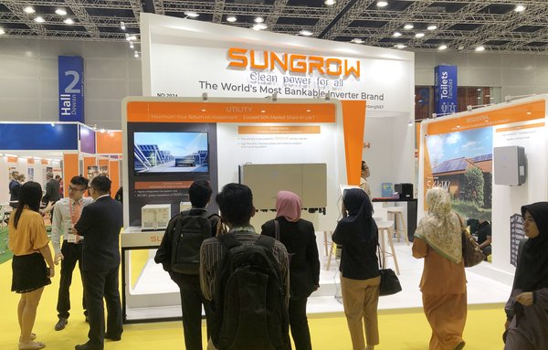 Sungrow Take the Lead in Malaysian Solar Market with Latest Product Lineup at IGEM