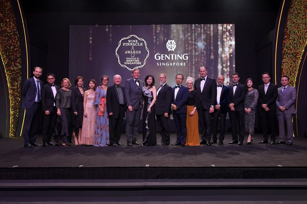 Winners of Inaugural Wine Pinnacle Awards 2019 Announced at Resorts World Sentosa