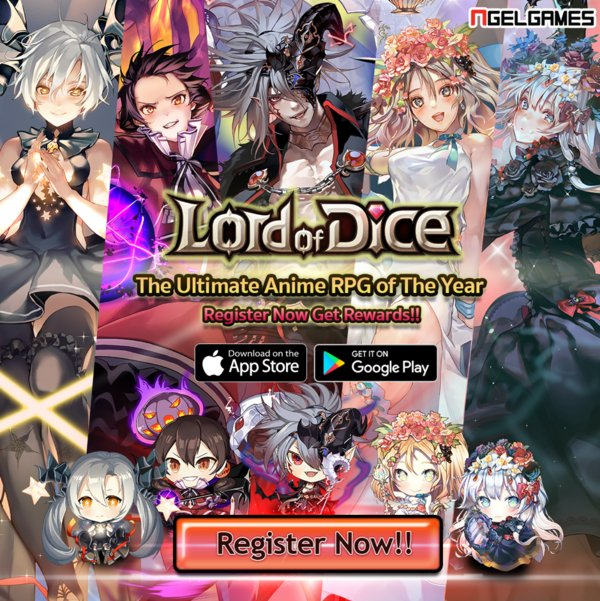Lord of Dice: The Ultimate Anime RPG of the Year Opens for Pre-Registration